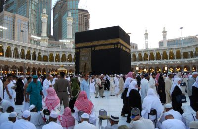 Ilustrasi Ibadah Umrah. (foto:ist)