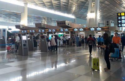 Ilustrasi Bandara Soetta. (foto:ist)