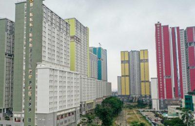 Wisma Atlet Kemayoran, Jakarta yang dijadikan rumah sakit darurat pasien Covid 19. (foto:ist)