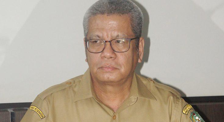 Kepala Dinas Kesehatan provinsi Kalimantan Barat, Harisson. (foto:das)