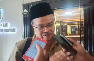 Pelaksana tugas (Plt) Kepala Dinas Kesehatan (Dinkes) Kabupaten Situbondo  Bakar Abdi. (foto:fat)