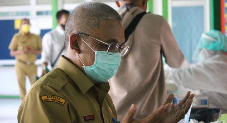 Setelah menjalani rapid tes, salahsatu pejabat Pemkot Pontianak ini bersyukur negatif terjangkit virus Corona.