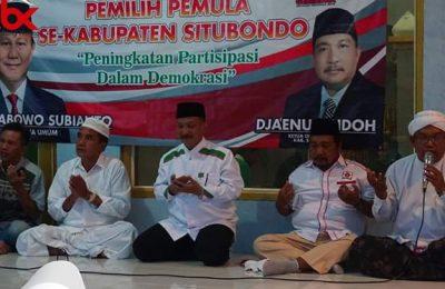 Karna Suswandi dan Jaenur Ridlo, saat hadir pada acara peningkatan parsipasi pemilu pemula pada demokrasi.(foto:fat)