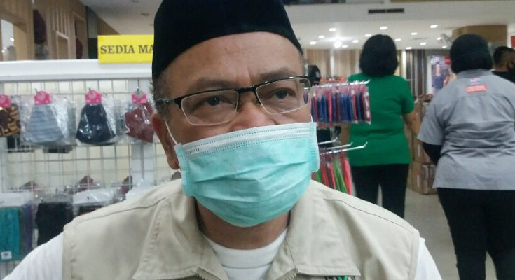 Abu Bakar Abdi, juru bicara Gugus Tugas Covid-19 Kabupaten Situbondo. (foto:fat)