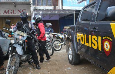 Pasca insiden sahur, polisi dengan cepat kendalikan situasi keamanan di kawasan Siantan, pelaku berhasil diamankan dan ditahan di Polresta Pontianak, sementara dua korban hanya luka ringan memar. (foto:das)