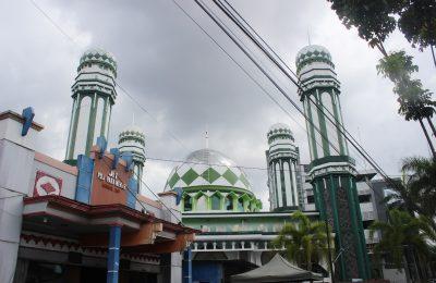 Salah saatu masjid di kota Pontianak. (foto:das)