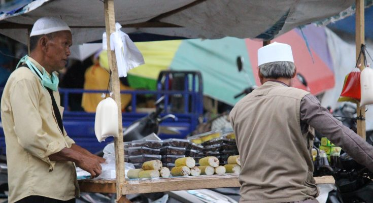 Pasar Teratai . (foto:das)