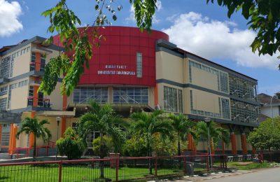 Rumah Sakit Universitas Tanjungpura, Pontianak, Kalimantan Barat. (foto.das)
