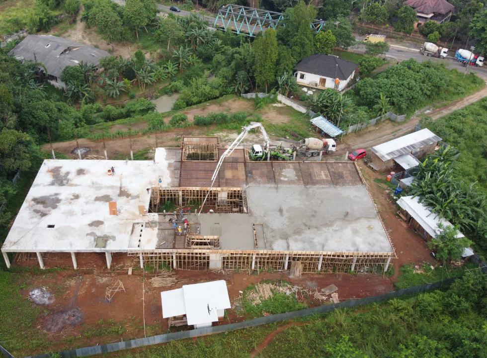 Pembangunan pesantren Sulaiminiyah