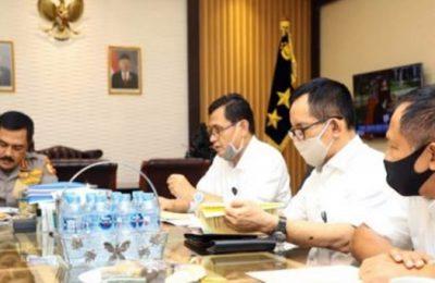 Kabaharkam Polri Komjen Pol. Agus Andrianto, saat menerima audiensi dari tim Kantor Staf Presiden (KSP) di ruang kerja Kabaharkam Polri, Kompleks Mabes Polri, Jakarta, Senin (15 /6/2020). (Ist)