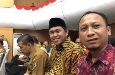 Ketua KPU dan Bawaslu Gresik siap gelar Pilkada Gresik 9 Desember 2020 mendatang. (foto:dik)