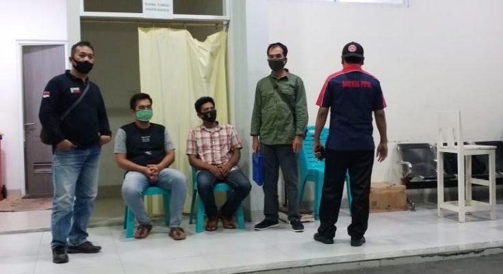 pemodal aksi tebang liar di kawasan hutan khusus pendidikan ditetapkan sebagai tersangka dan ditahan. (foto:istimewa)