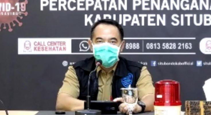 Juru bicara Gugus Tugas Covid-19 Kabupaten Situbondo, Dadang Aries Bintoro.