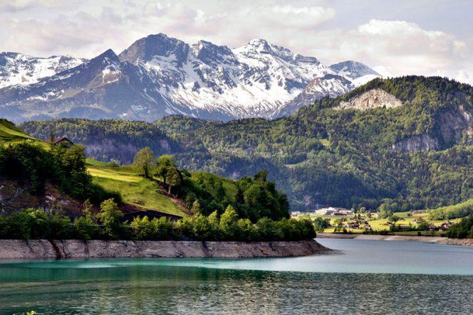 salah satu sudut di negara Swiss