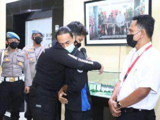 ilustrasi Brigadir NP di njatuhi hukuman disiplin terberat setelah dinyatakan bersalah melakukan tindak kekerasan terhadap seorang mahasiswa M Faris Amrullah saat mengamankan aksi unjukrasa di Tangerang beberapa waktu lalu.  (foto:istimewa)